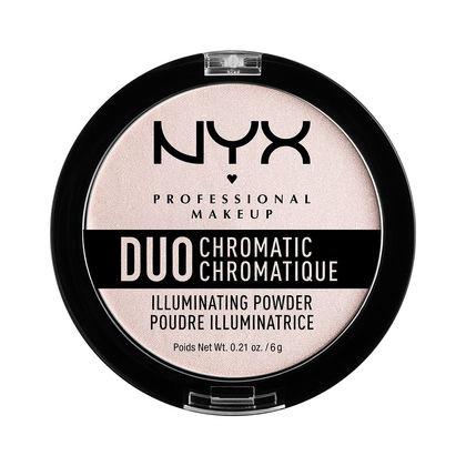 Хайлайтер DUO Chromatic Illuminating Powder от NYX Professional Makeup