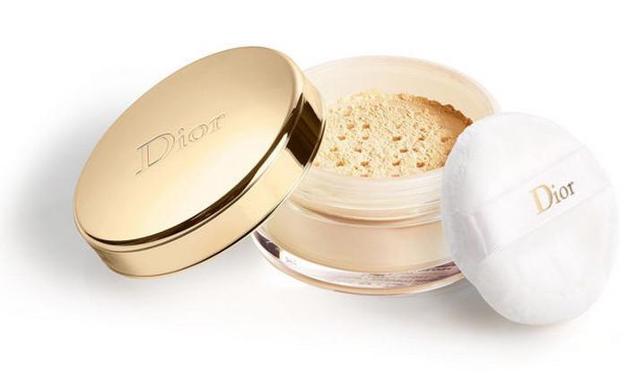 рассыпчатая мерцающая пудра Dior Diorific Golden Glow Loose Powder Holiday 2017