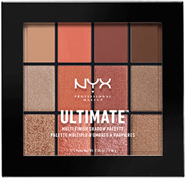 NYX Ultimate Multi-Finish Shadow Palette in Warm Rust