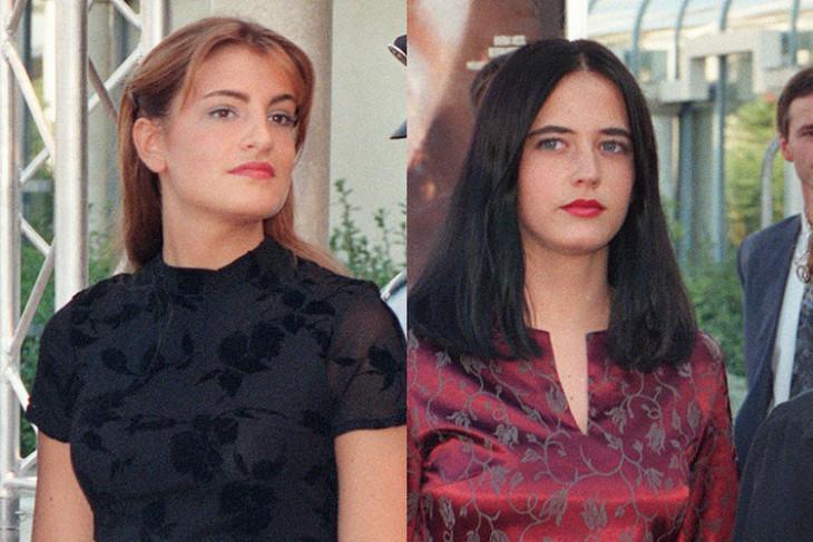 Ева Грин и ее сестра Джой