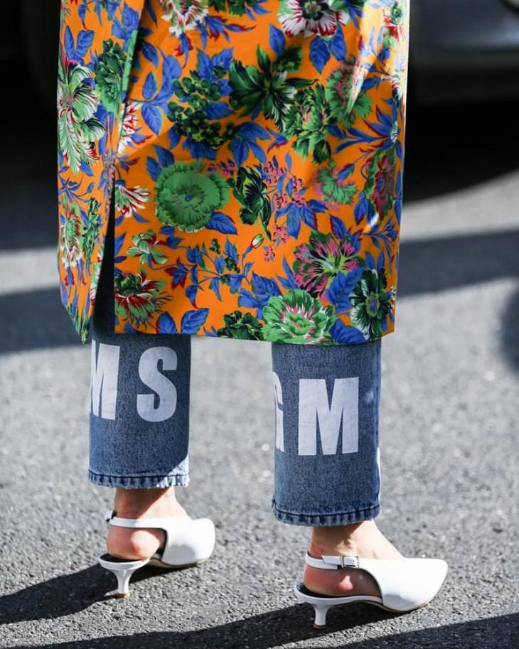 мода 2018 принт