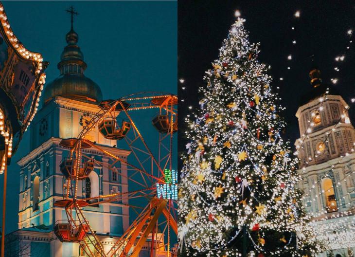 где встретить новый год Киев
