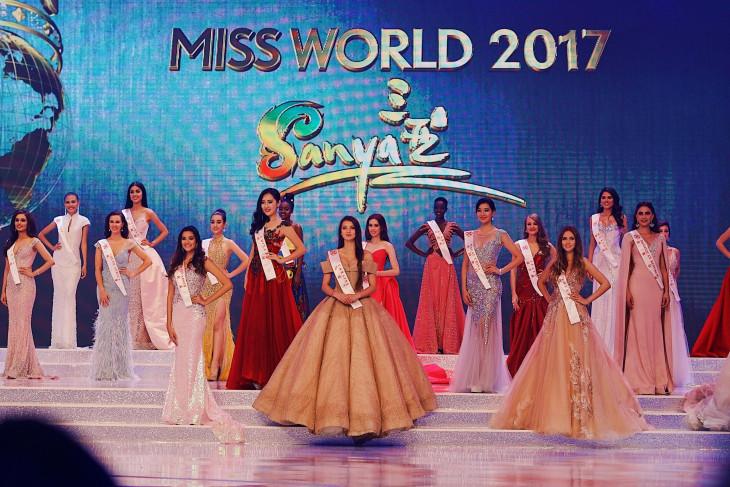 Полина Ткач платье для финала мисс мира 2017