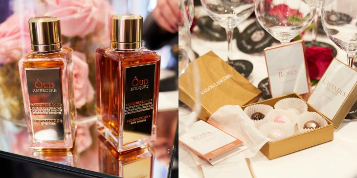 презентация коллекции ароматов Maison Lancôme