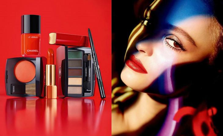 рождественская коллекция макияжа шанель