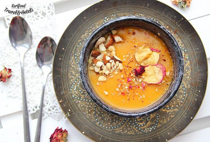 Aseeda bobar  эмиратский тыквенный пудинг рецепт