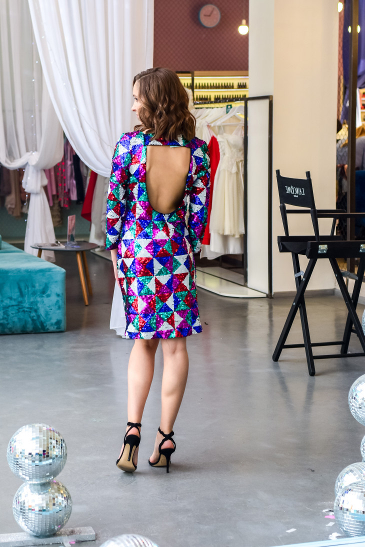 Платья с пайетками на Новый год