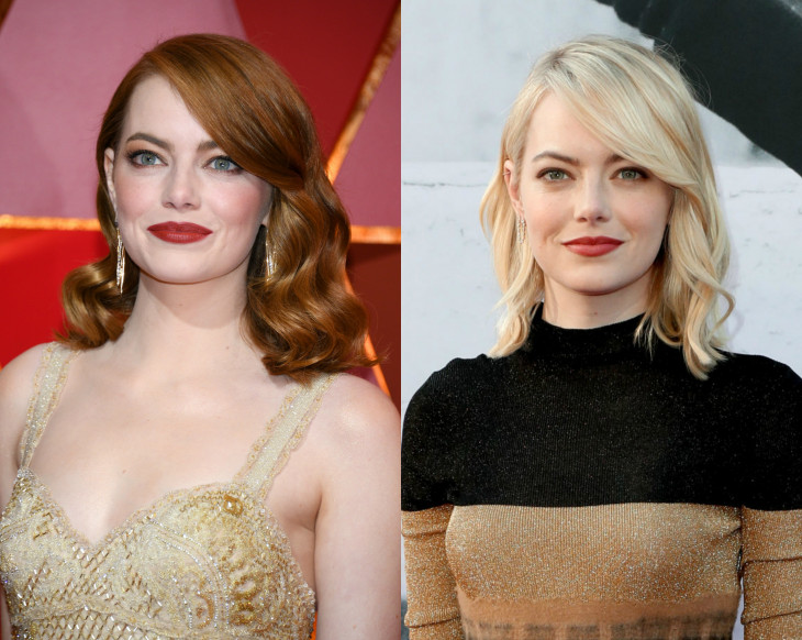 эмма стоун блондинка