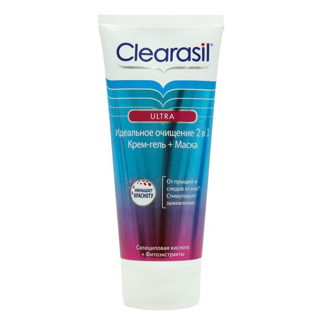 Крем-гель+маска Clearasil Ultra