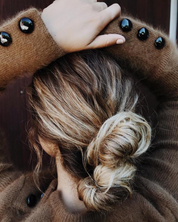 как сделать пучок лайфхаки для волос