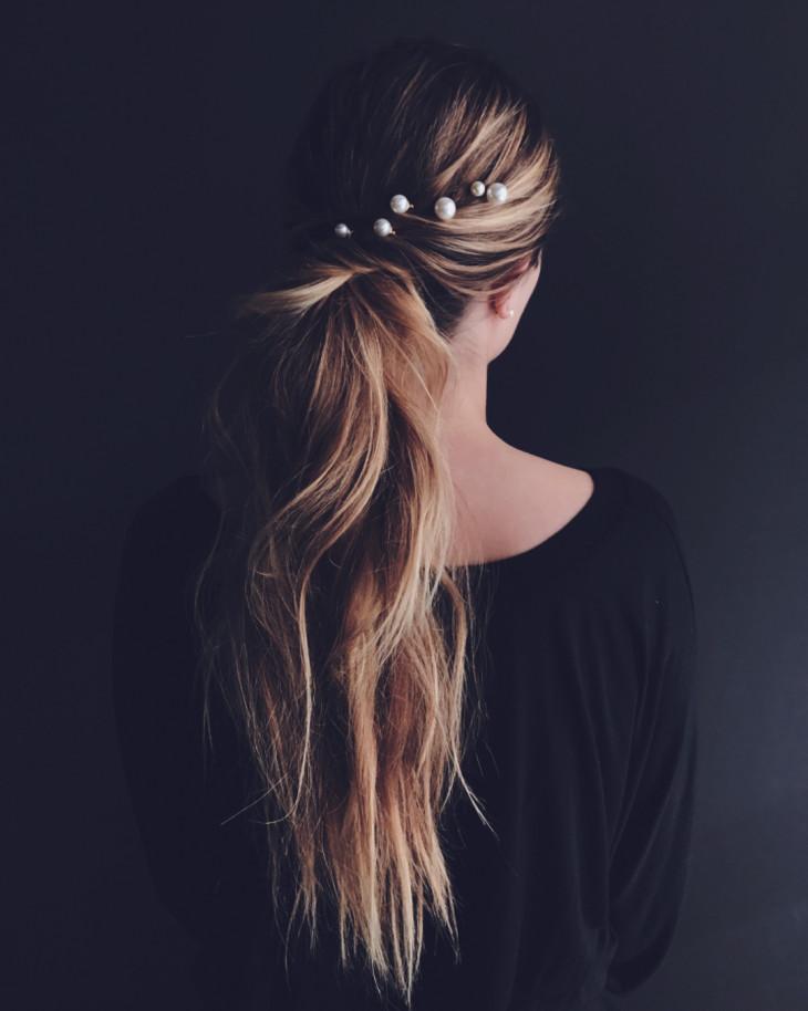 прически на длинные волосы