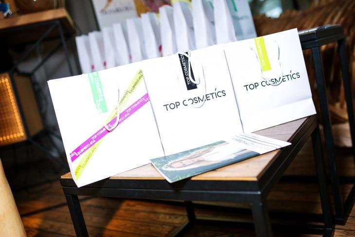 Как все было: в Киеве состоялась презентация косметического бренда Top Cosmetiсs