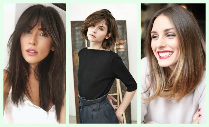 Модная стрижка и макияж