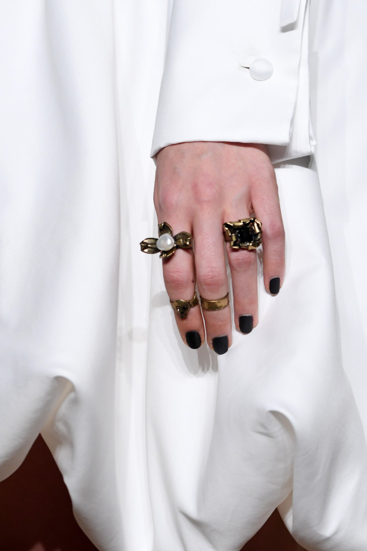 модные кольца 2018