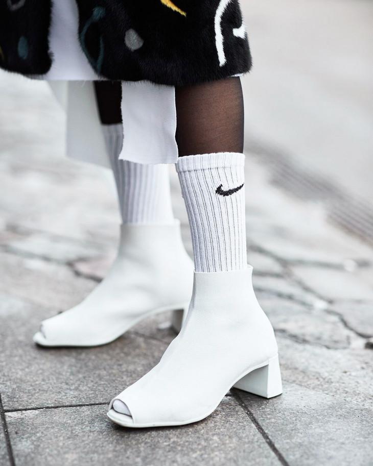С чем носить носки с туфлями 113