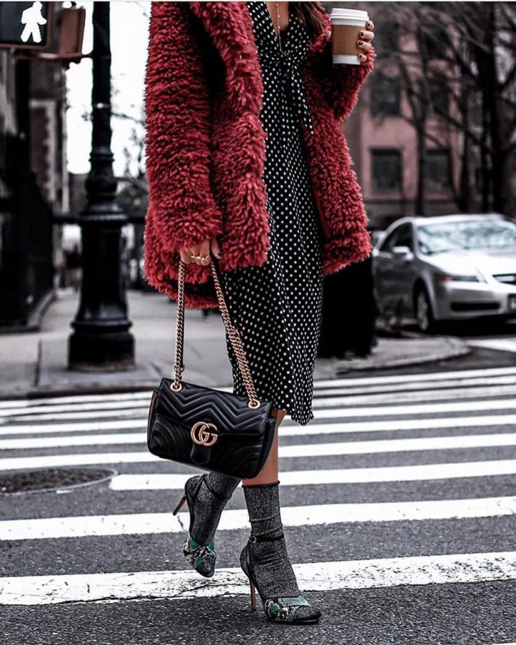 Туфли стильные на высоком каблуке