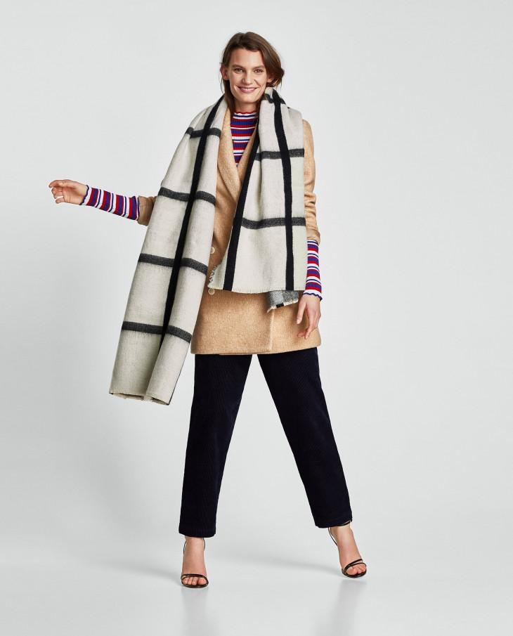 модные шарфы 2018 весна