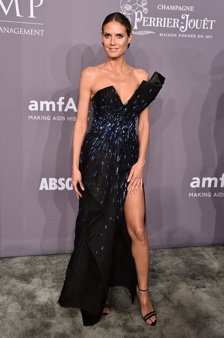 AmfAR Gala New York Хайди Клум