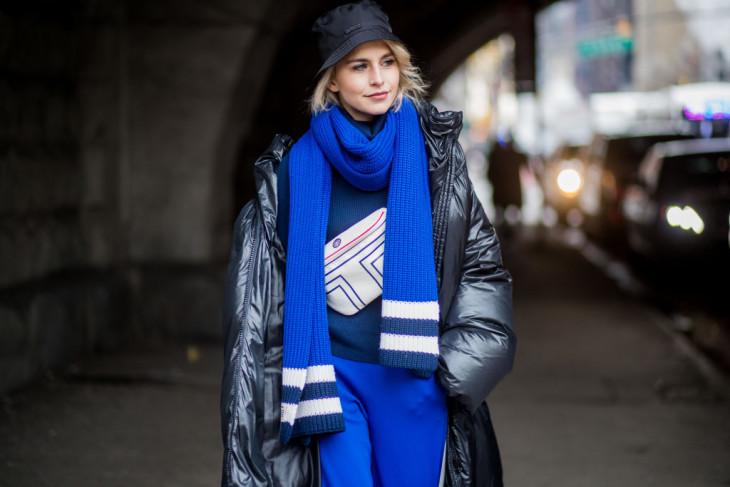 стильные шарфы 2018 весна