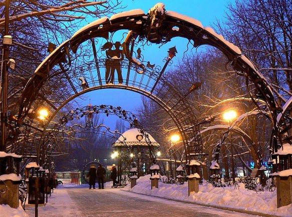 куда поехать в украине на 14 февраля