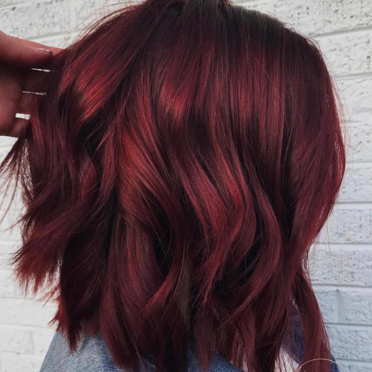 цвет волос весна 2018