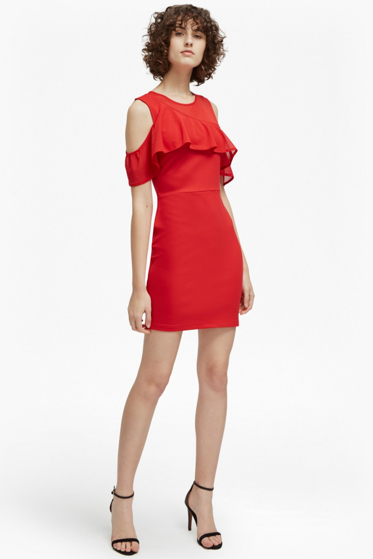 модное платье на 8 марта