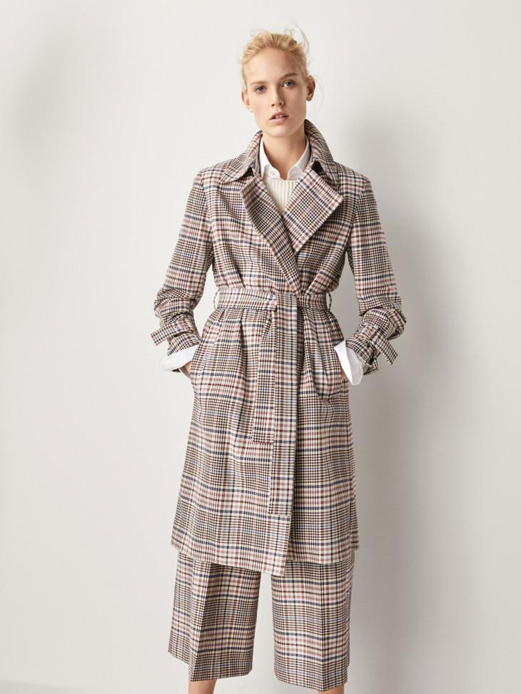 модное пальто весна 2018