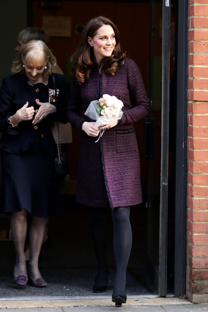 Кейт Миддлтон беременная герцогиня