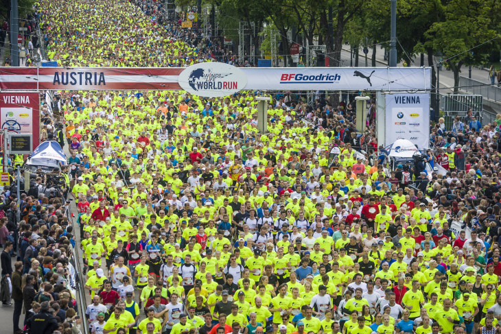 Wings for Life World Run в мире