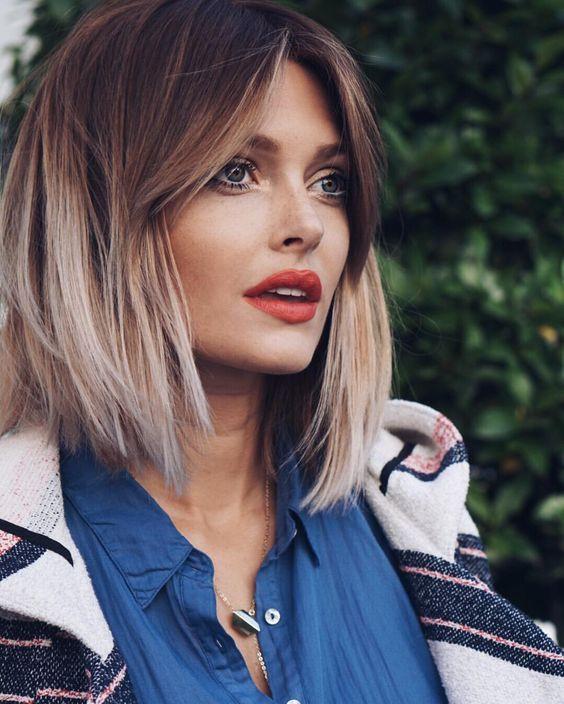 Омбре на короткие волосы: 10 модных вариантов окрашивания ...