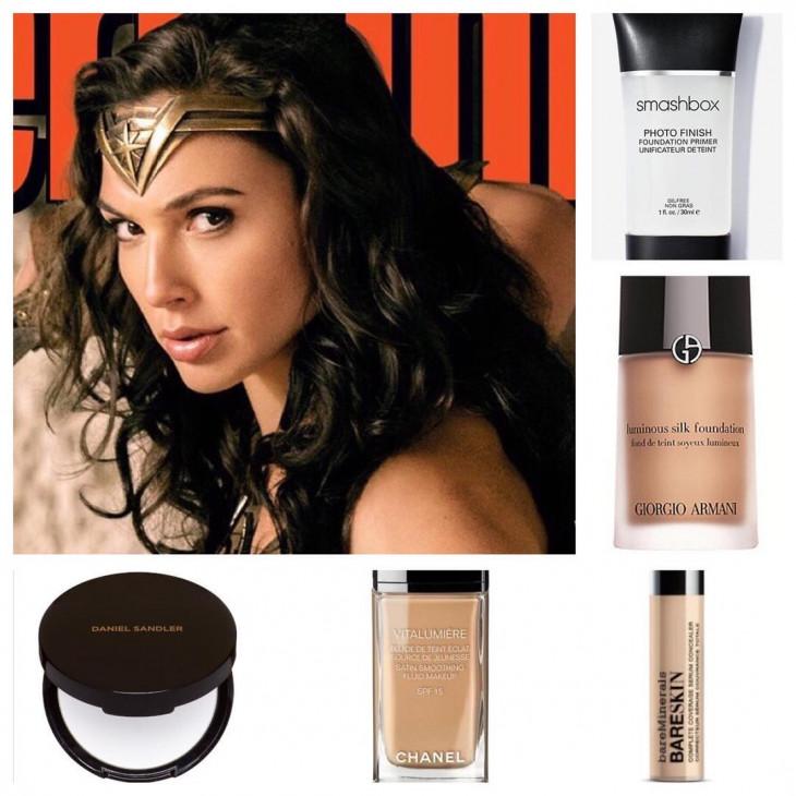 макияж чудо женщины