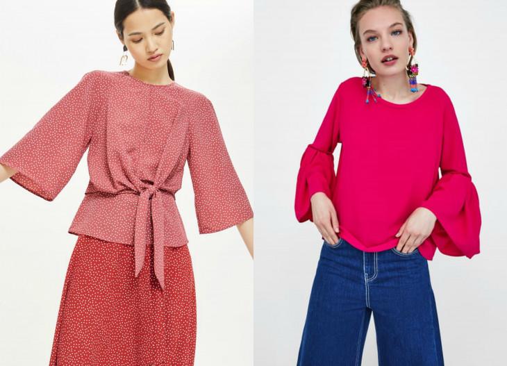 модные блузки весна 2018 2