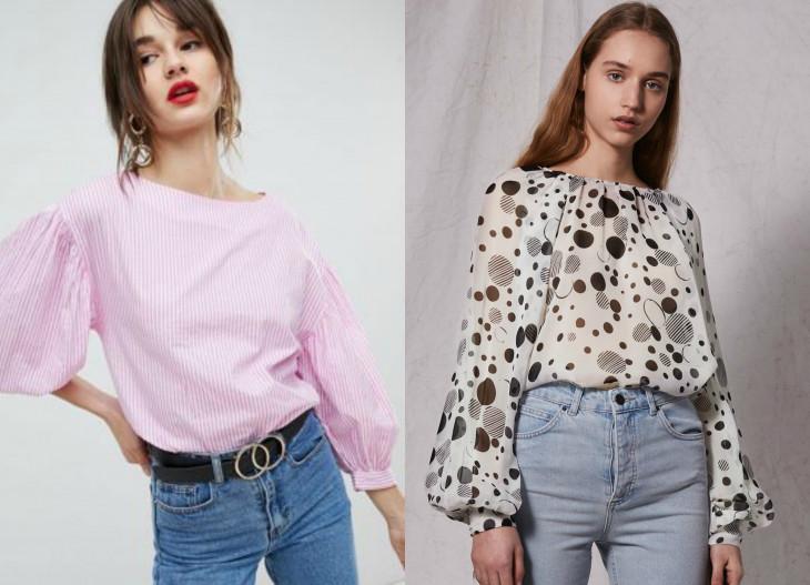 модные блузки весна 2018