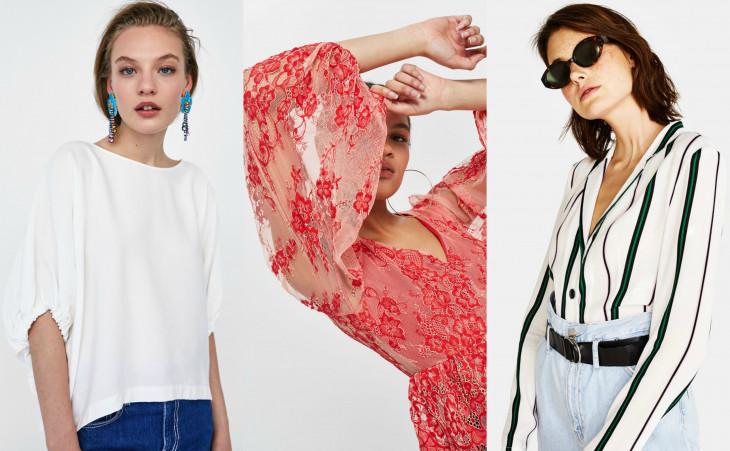 модные блузы весна 2018
