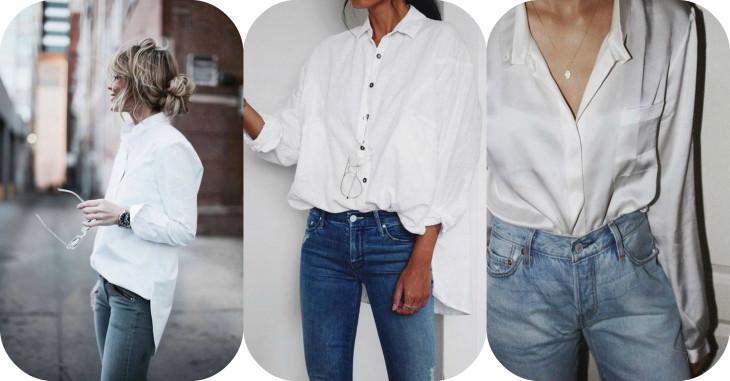 c1b3c830a3ad Не обошлось и без классических синих джинсов. Белая рубашка+плюс голубые  джинсы, по мннию мужчин, очень сексуальное сочетание. А еще эти две вещи  относятся ...