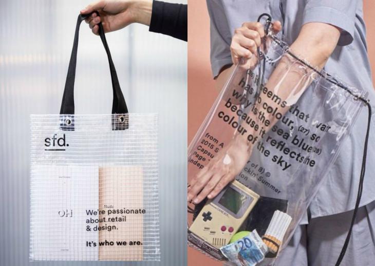 модная прозрачна сумка весна 2018