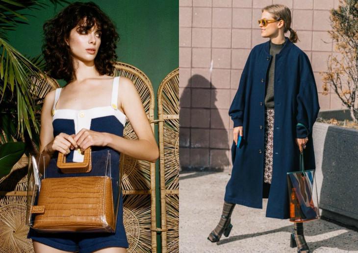 прозрачная пластиковая сумка мода 2018