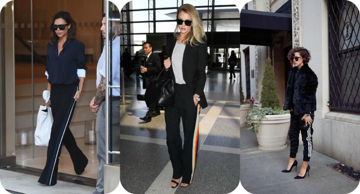 На стиле: штаны с лампасами – новый модный тренд, на котором все помешались