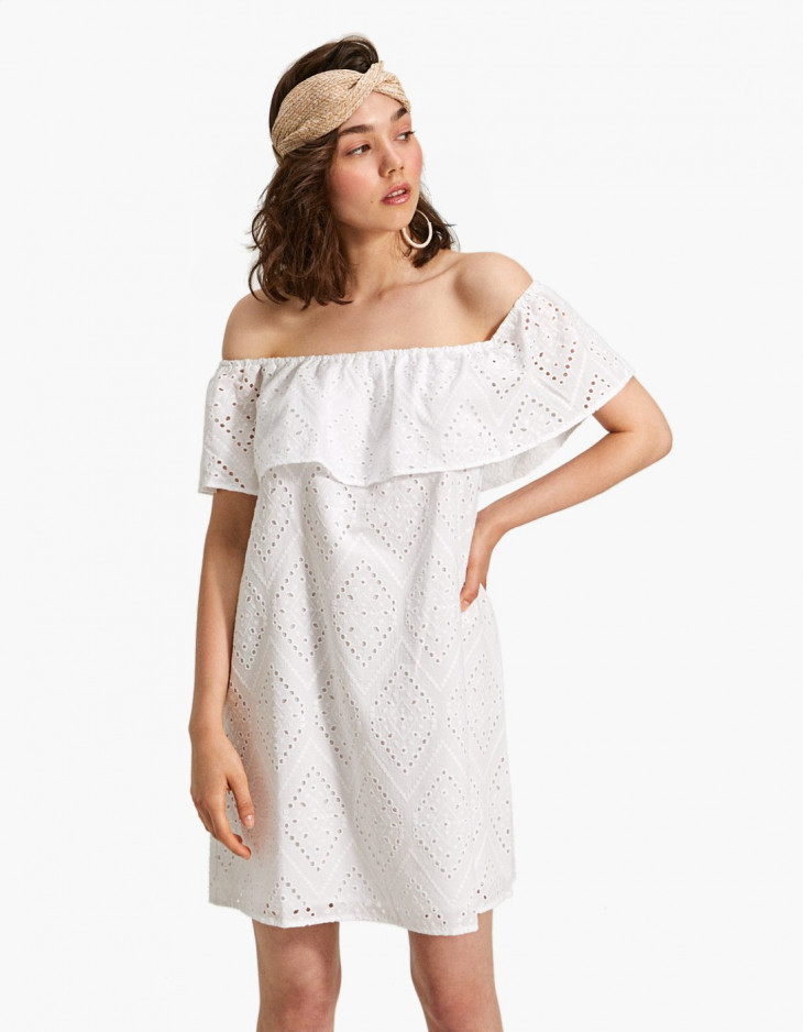 мода лето 2018 сарафан