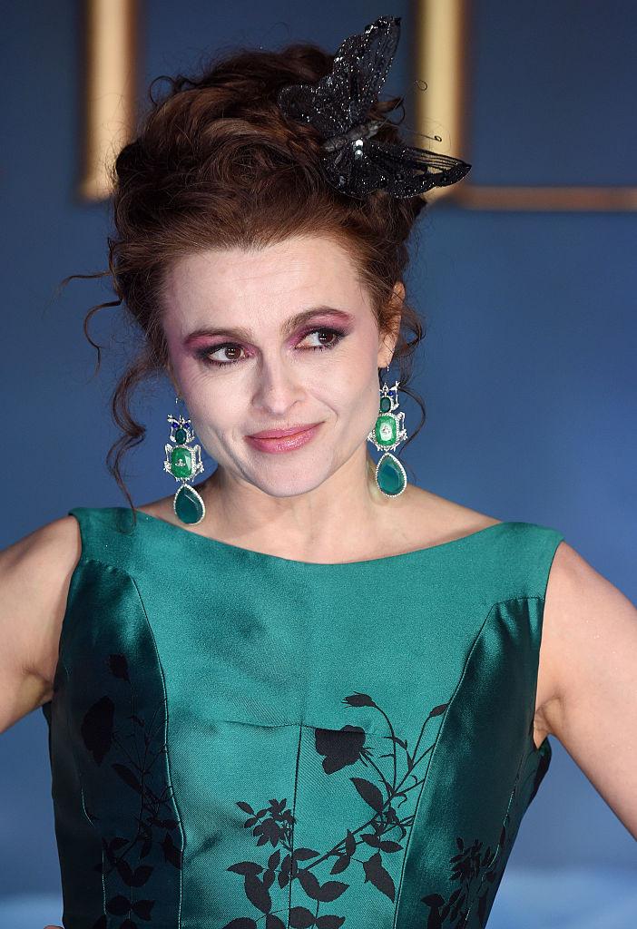 хелена бонэм картер макияж
