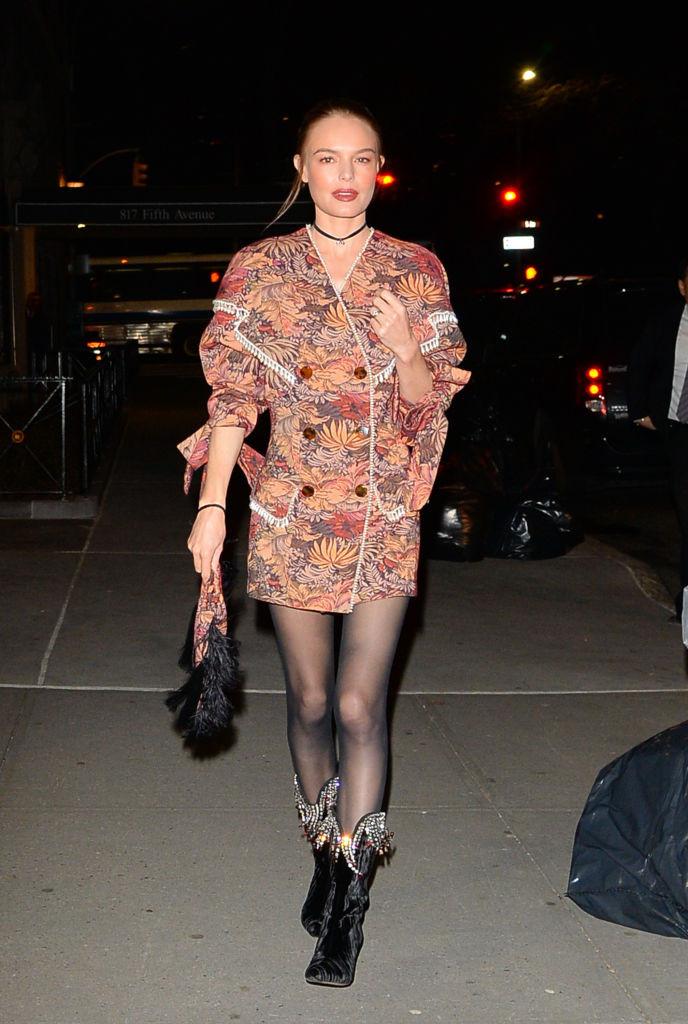 как носить платье пиджак кейт босуорт