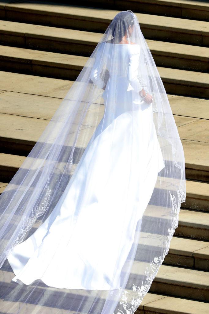 свадебное платье меган маркл 2