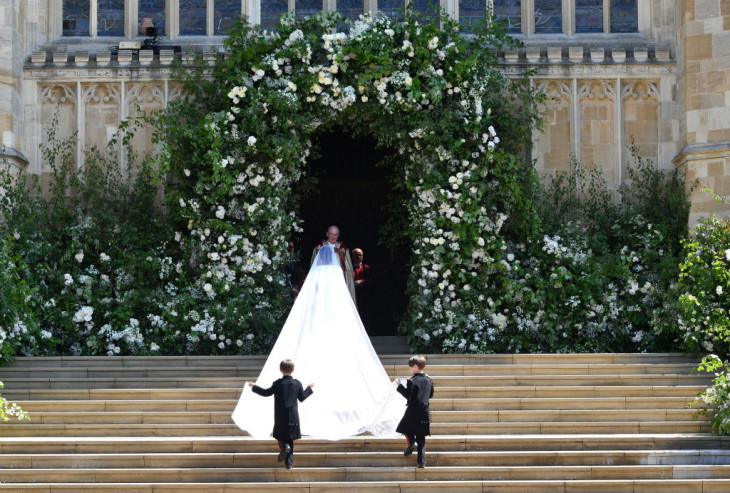 свадебное платье меган маркл 1