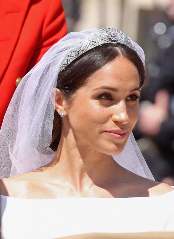 меган маркл свадебный макияж 1