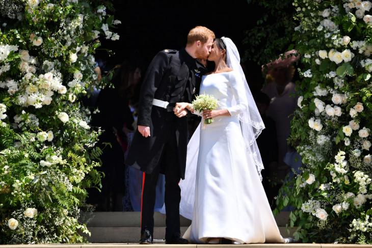 принц гарри и меган маркл - свадьба