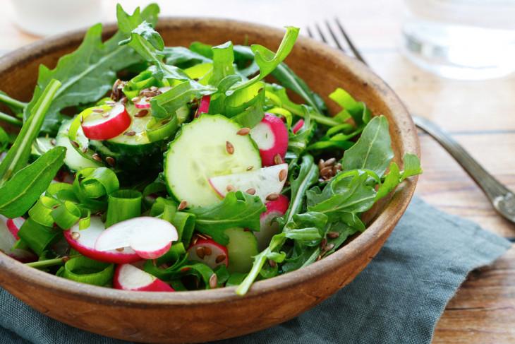 рецепт салата с редиской