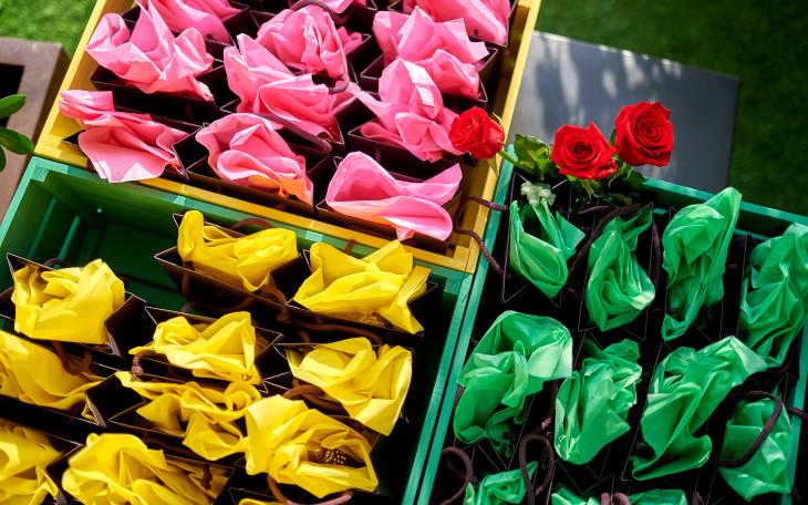 презентация новых ароматовGuerlainPassiflora и Rosa Rossa