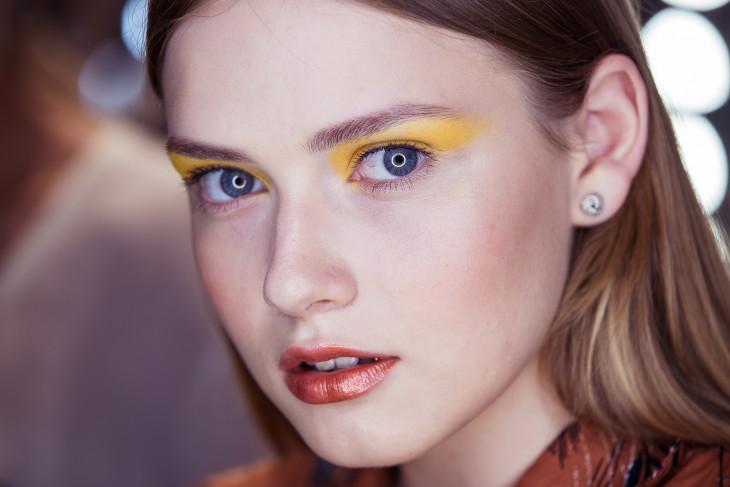 Модный макияж глаз 2018