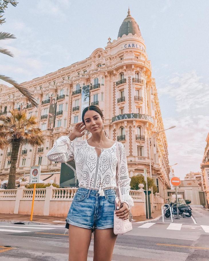 модные шорты на лето 2018