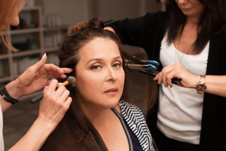 макияж и укладка для главного редактора Viva